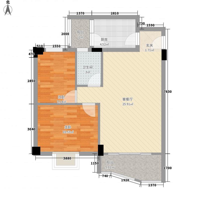 庆峰花园三期庆峰花园三期2室户型2室