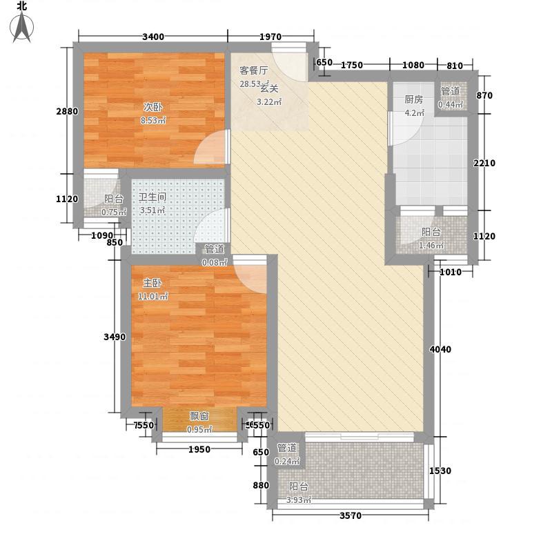 合肥万达广场96.00㎡合肥万达广场户型图D1户型2室2厅1卫1厨户型2室2厅1卫1厨