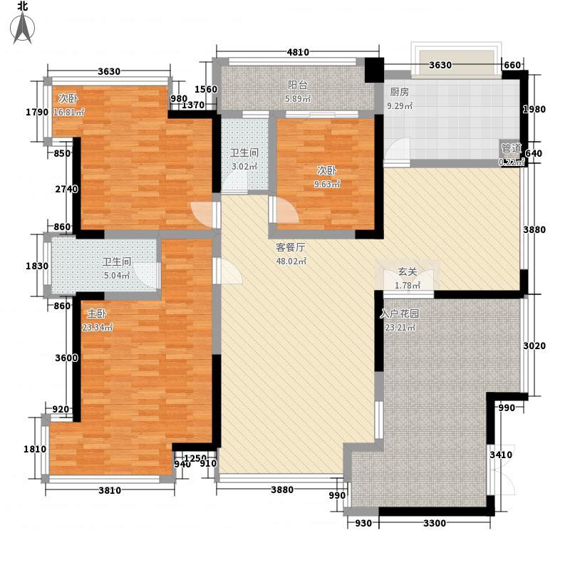 香山人家187.00㎡户型4室