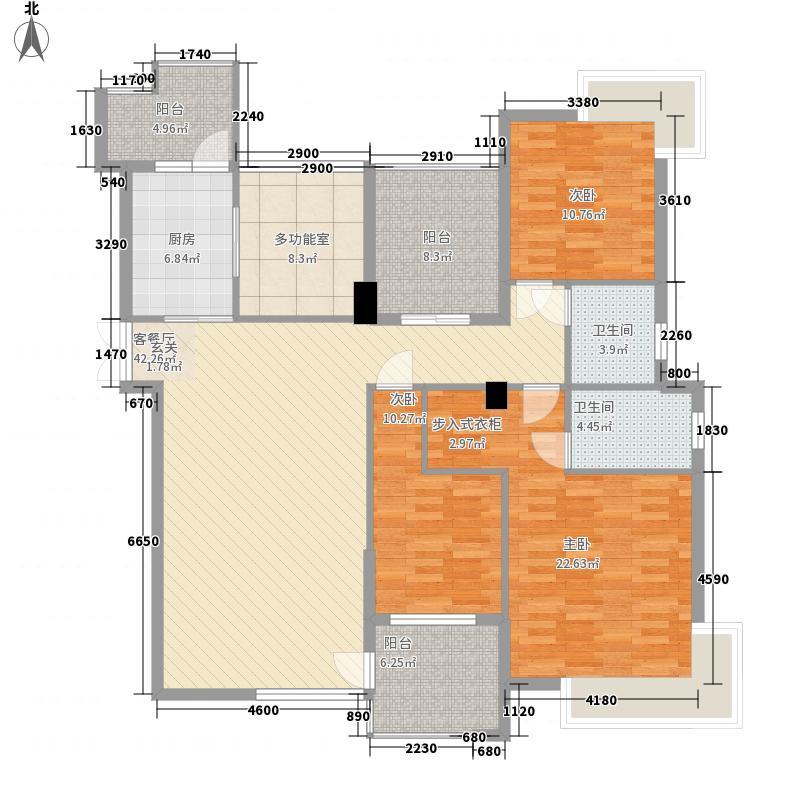 丽水佳园3.00㎡户型4室