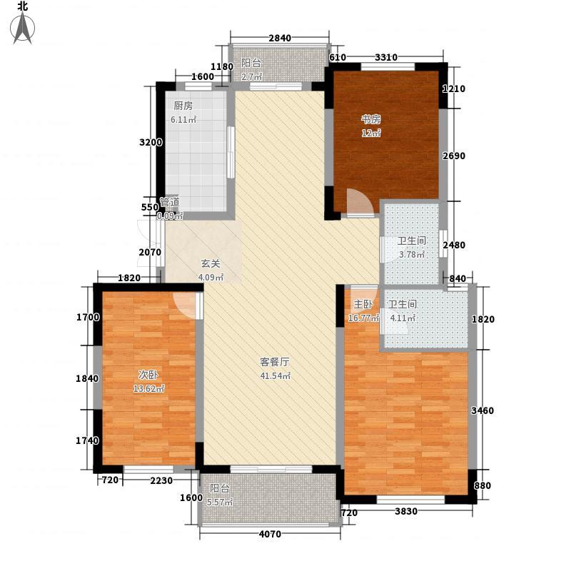西河苑150.00㎡西河苑户型图3室户型图3室2厅2卫1厨户型3室2厅2卫1厨