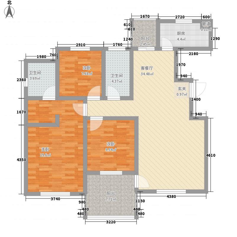 馨雅北苑户型3室