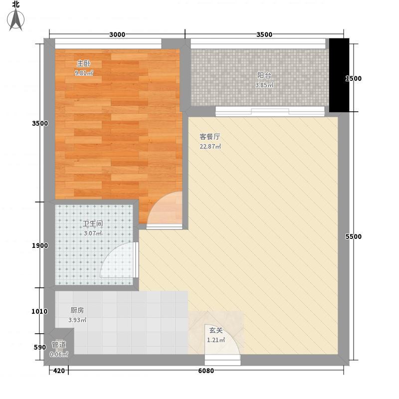 金沙湾花园120.00㎡金沙湾花园1室户型1室