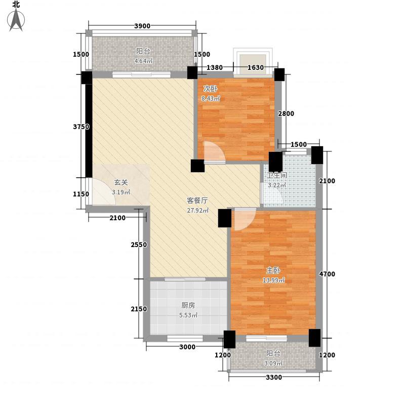 三合院47.00㎡三合院47.00㎡1室户型1室