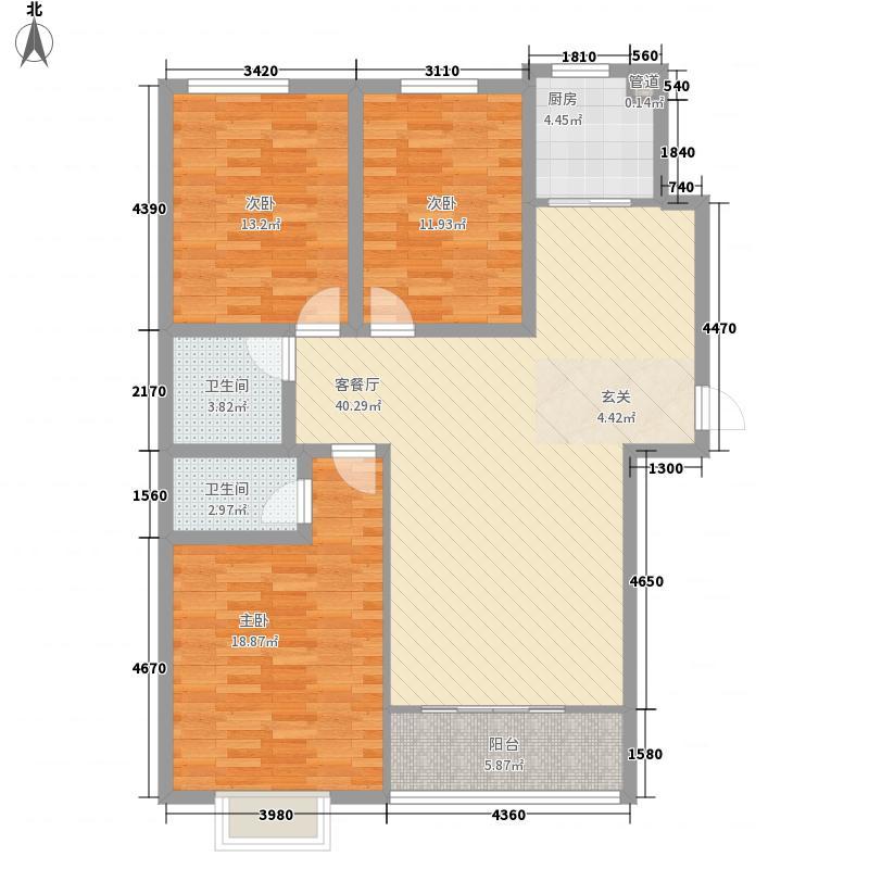 迎西城・建安佳园142.97㎡迎西城・建安佳园户型图D户型3室2厅2卫1厨户型3室2厅2卫1厨