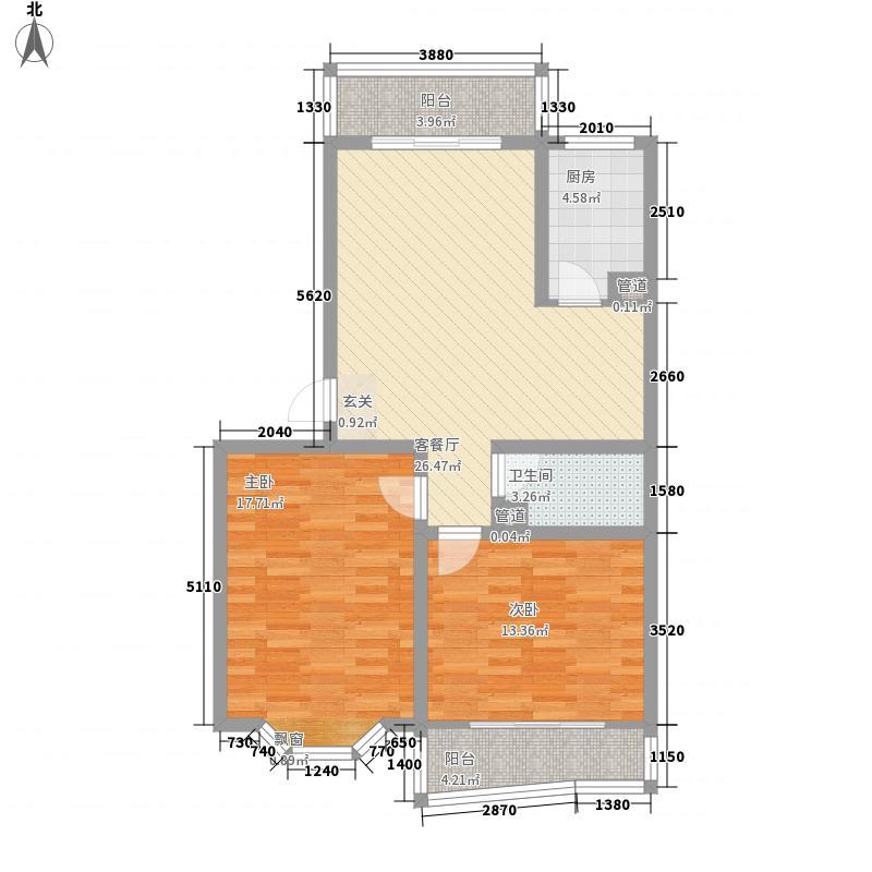 石桥新苑106.19㎡石桥新苑户型图两室两厅一卫户型2室2厅1卫户型2室2厅1卫