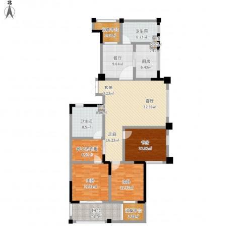 宋都天润3室2厅2卫1厨178.00㎡户型图
