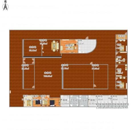 喜马拉雅6室1厅2卫3厨1598.00㎡户型图