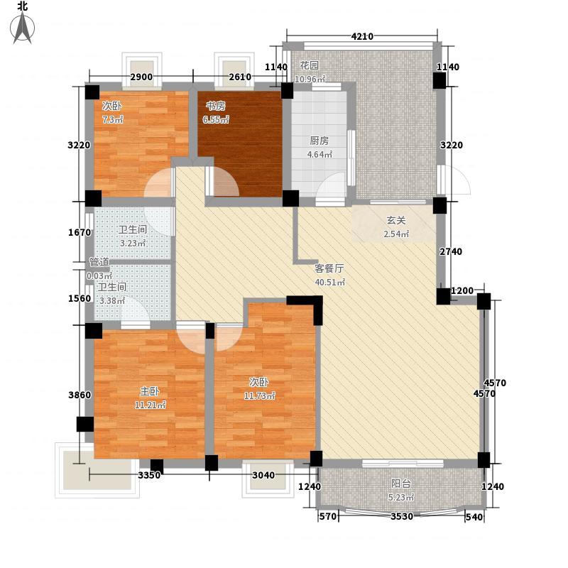 三木花园150.00㎡三木花园4室户型4室