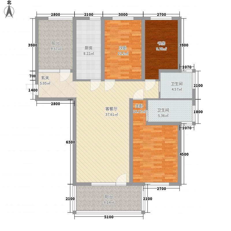 万科新里程133.00㎡万科新里程户型图巴洛克生活3室2厅户型3室2厅
