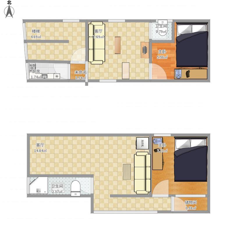 49平方自建房