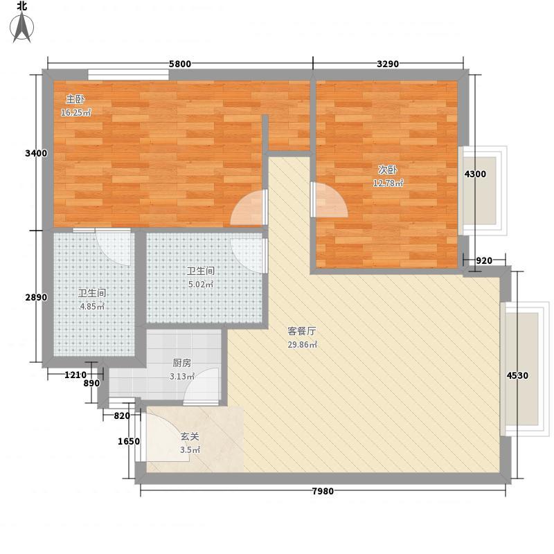 静安紫苑101.03㎡上海静安紫苑户型图户型10室