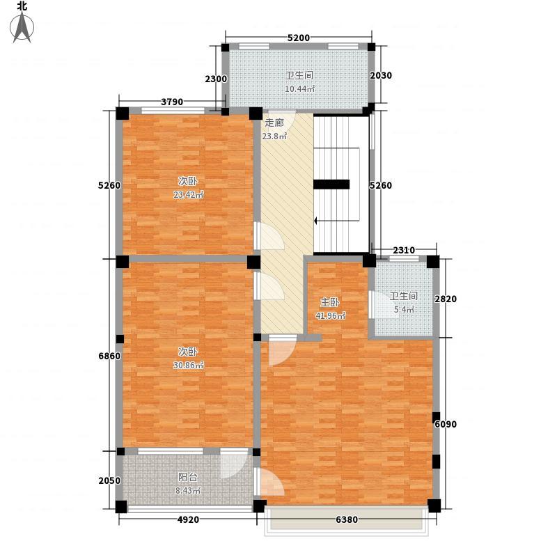 阳澄之星200.00㎡阳澄之星户型图1#叠下别墅A户型2层3室2厅3卫1厨户型3室2厅3卫1厨