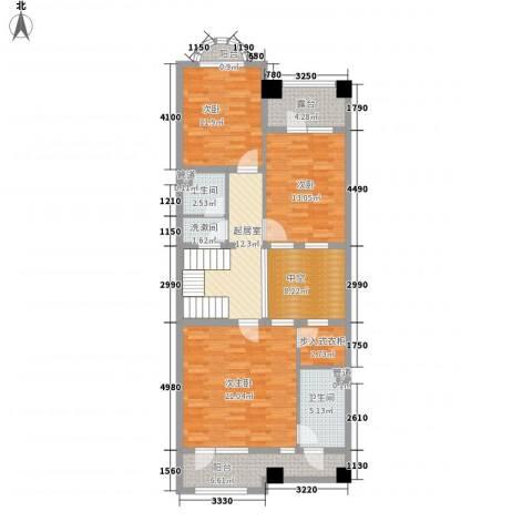 弗莱明戈2室0厅2卫0厨90.54㎡户型图