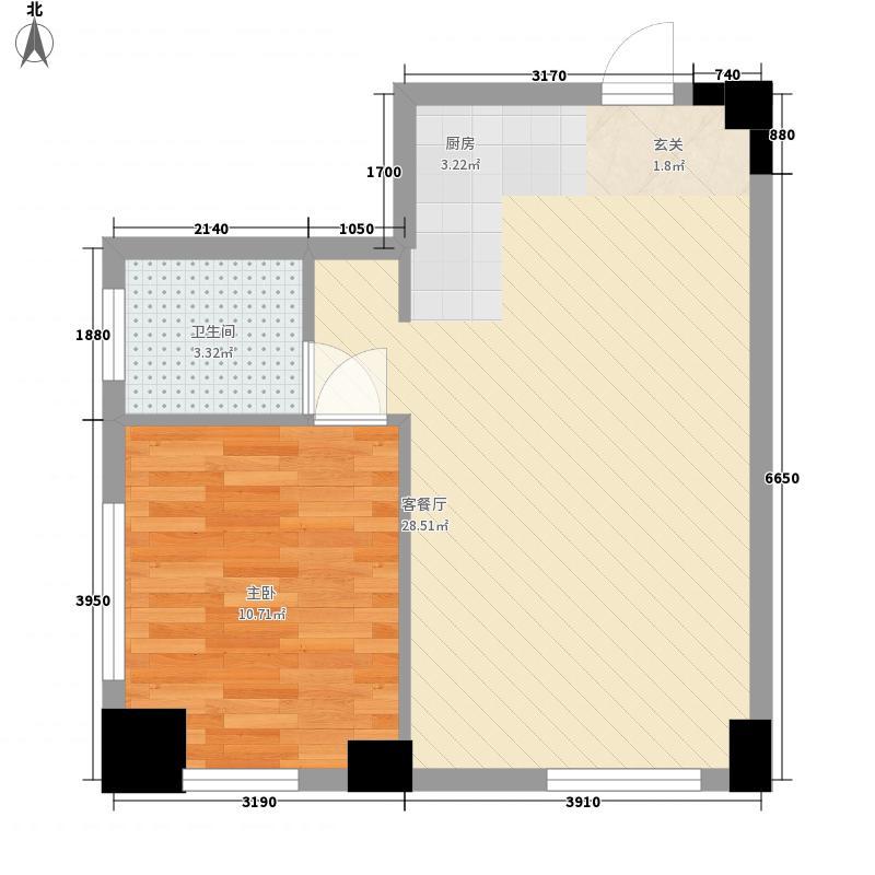 峰度18#公寓青年04户型