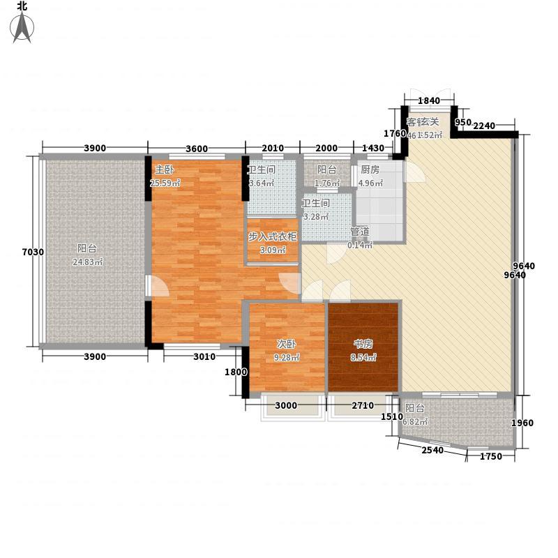 汇景豪庭125.10㎡汇景豪庭3室2厅户型3室2厅