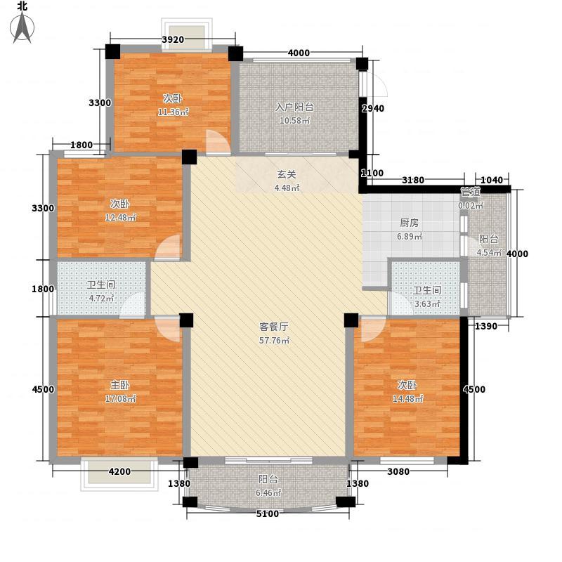 广西电网公司宿舍16.00㎡户型4室