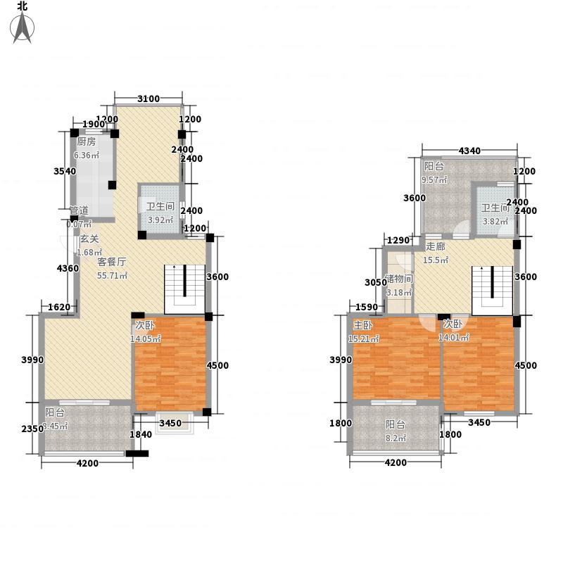 城西二里20091172019378177801户型4室3厅2卫1厨