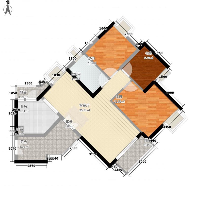 颐澳湾花园颐澳湾花园0室户型10室