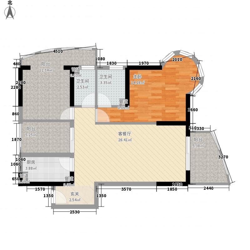 半岛花园104.00㎡半岛花园户型图11户型户型10室