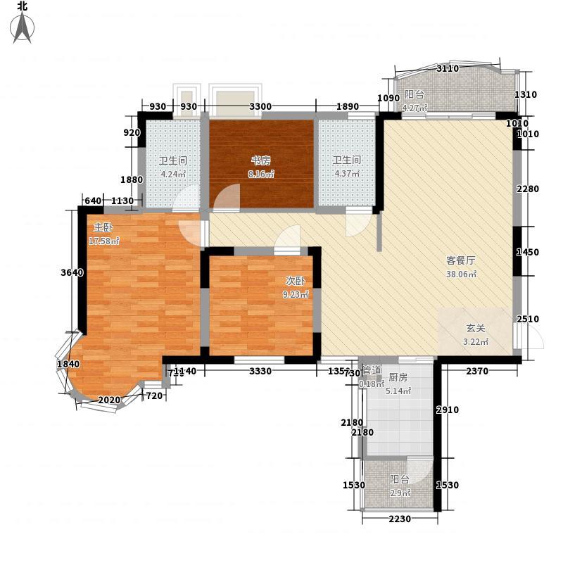 东健楼133.00㎡3室