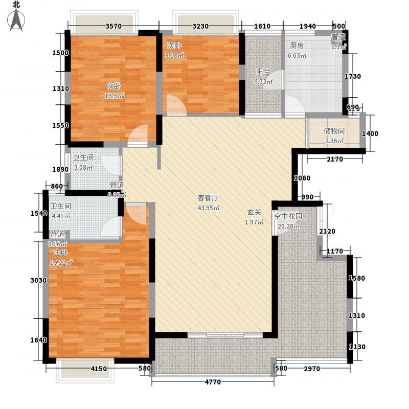 塘厦东港城115.00㎡塘厦东港城3室户型3室