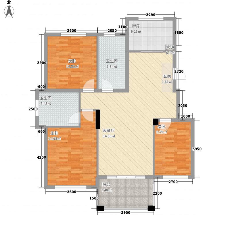 文锦新城户型3室
