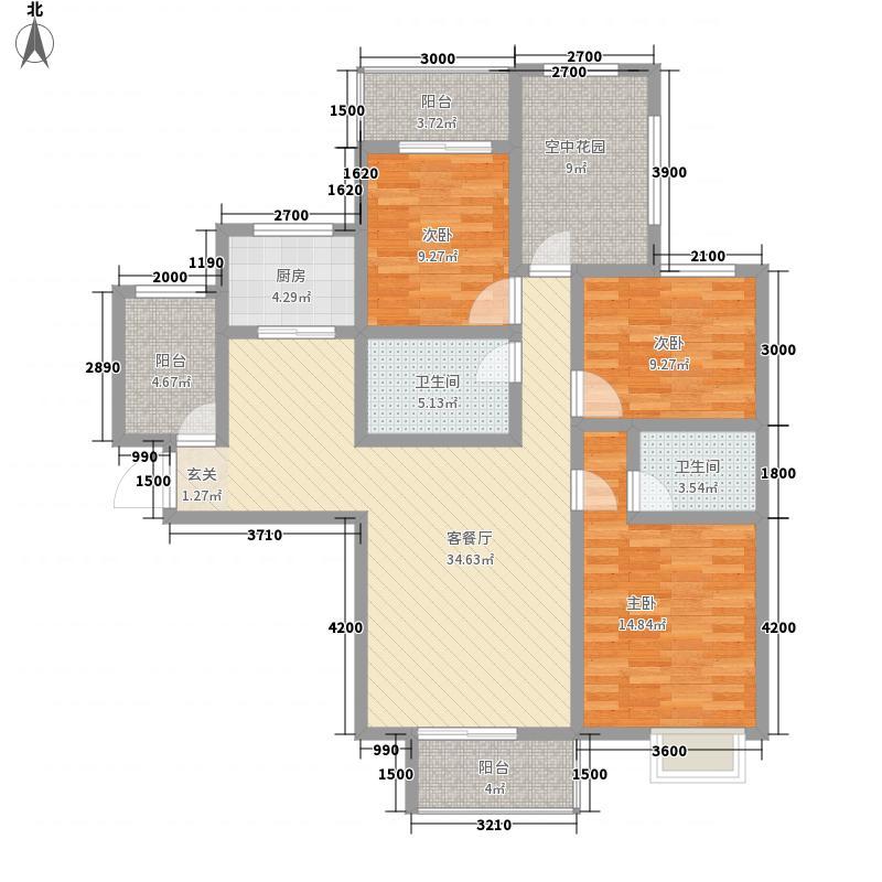 春江御园156.00㎡春江御园4室户型4室