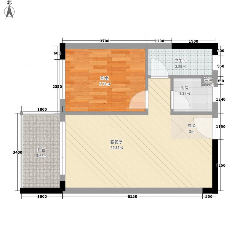 杏林小区30.00㎡杏林小区户型图杏林花园1室户型图1室1厅1卫1厨户型1室1厅1卫1厨