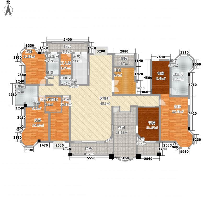 优山美地338.19㎡优山美地户型图阔绰名家5室3厅4卫1厨户型5室3厅4卫1厨