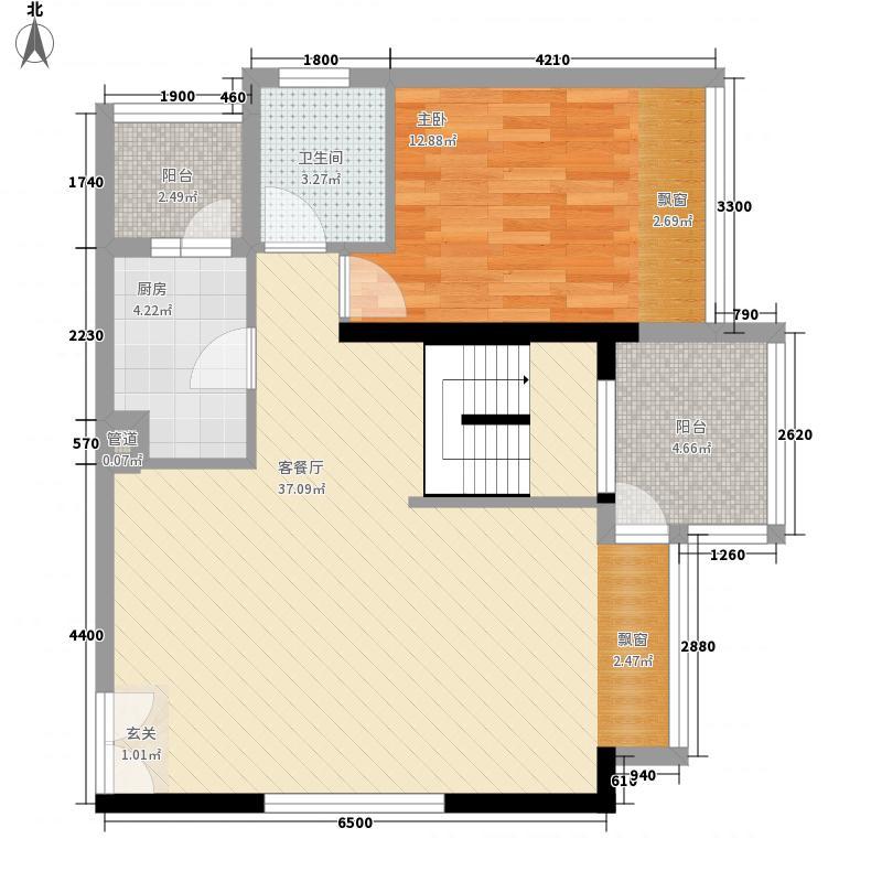 荣和中央公园187.00㎡13#复式下层户型10室