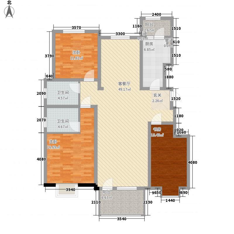 康城瑞河兰乔康城・瑞河兰乔洋房B3八层户型