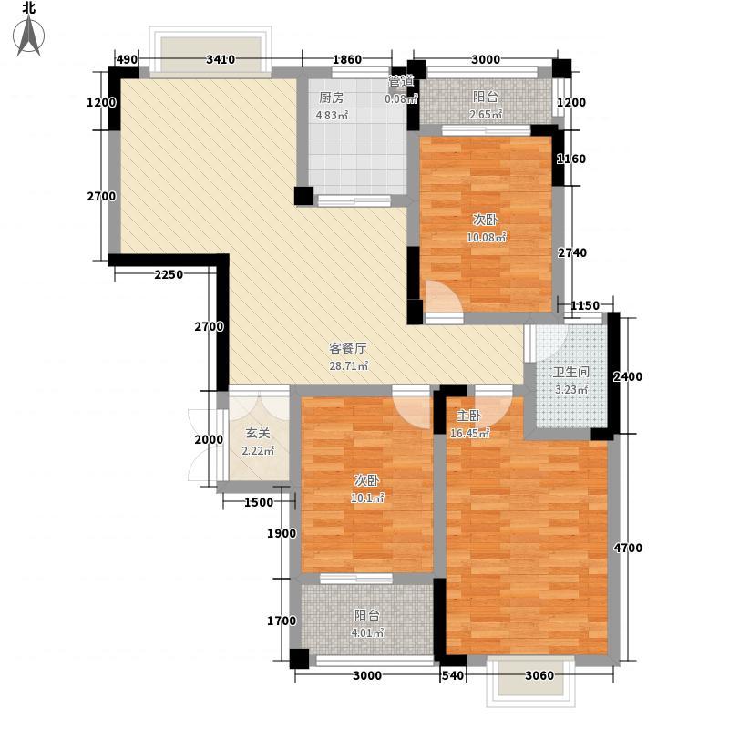 龙腾国际112.28㎡龙腾国际户型图9栋3/4号户型3室2厅1卫1厨户型3室2厅1卫1厨