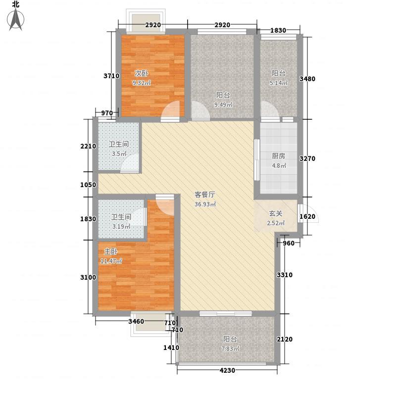 中南现代城3期131.00㎡中南现代城3期8#―033室2厅2卫131.00㎡户型3室2厅2卫