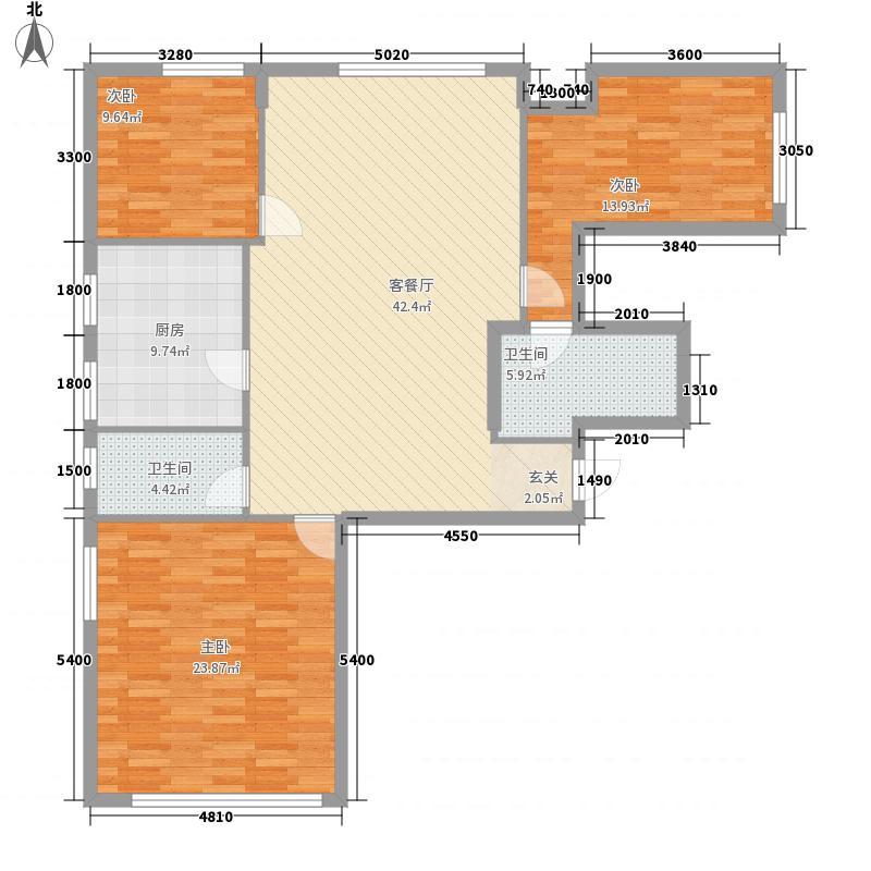 阳光馨苑开建阳光馨苑3室户型3室