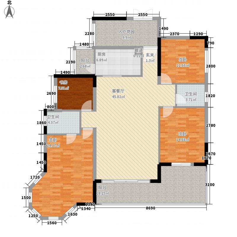 凰樵假日凰樵假日户型图户型单张-7座2号楼标准层05-06单位_副本户型10室