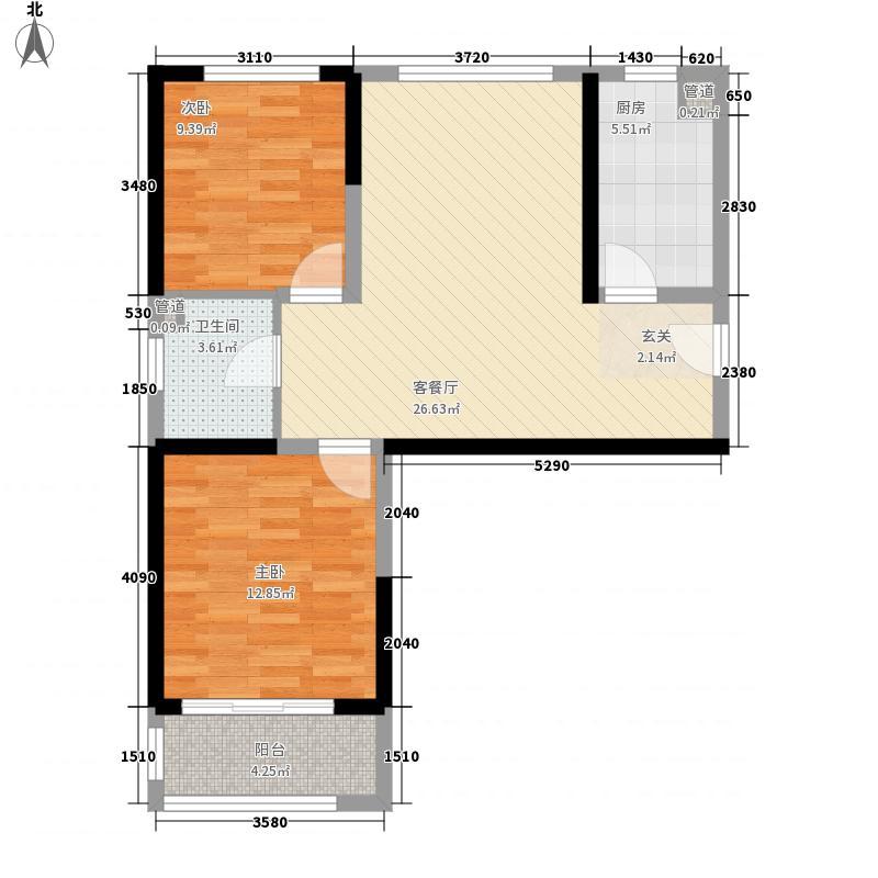 和睦家园90.00㎡和睦家园户型图A2室2厅1卫户型2室2厅1卫