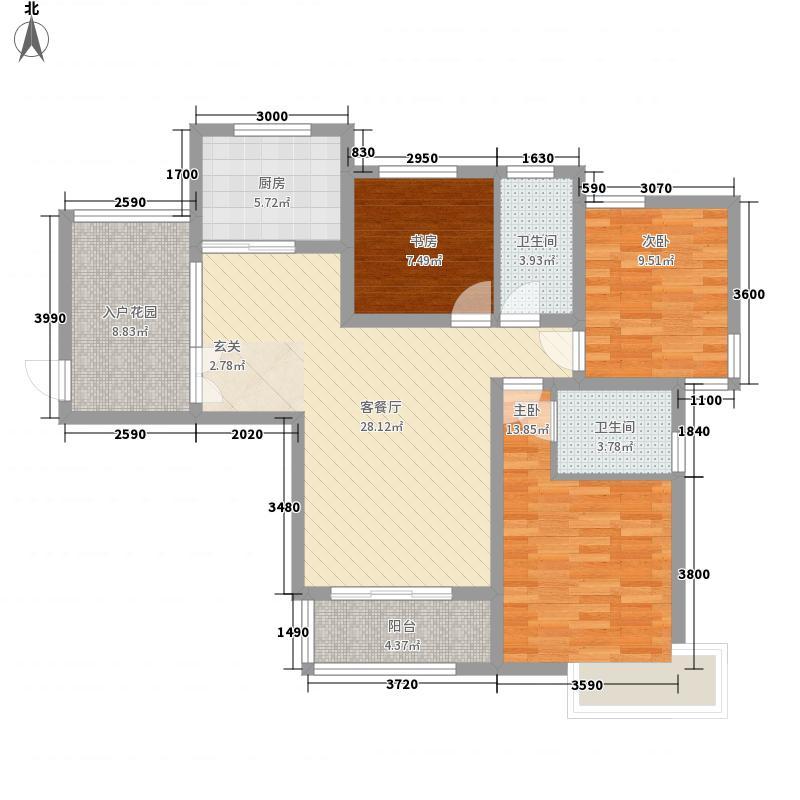 南京东路工商管理学校宿舍406153508000户型3室2厅1卫1厨