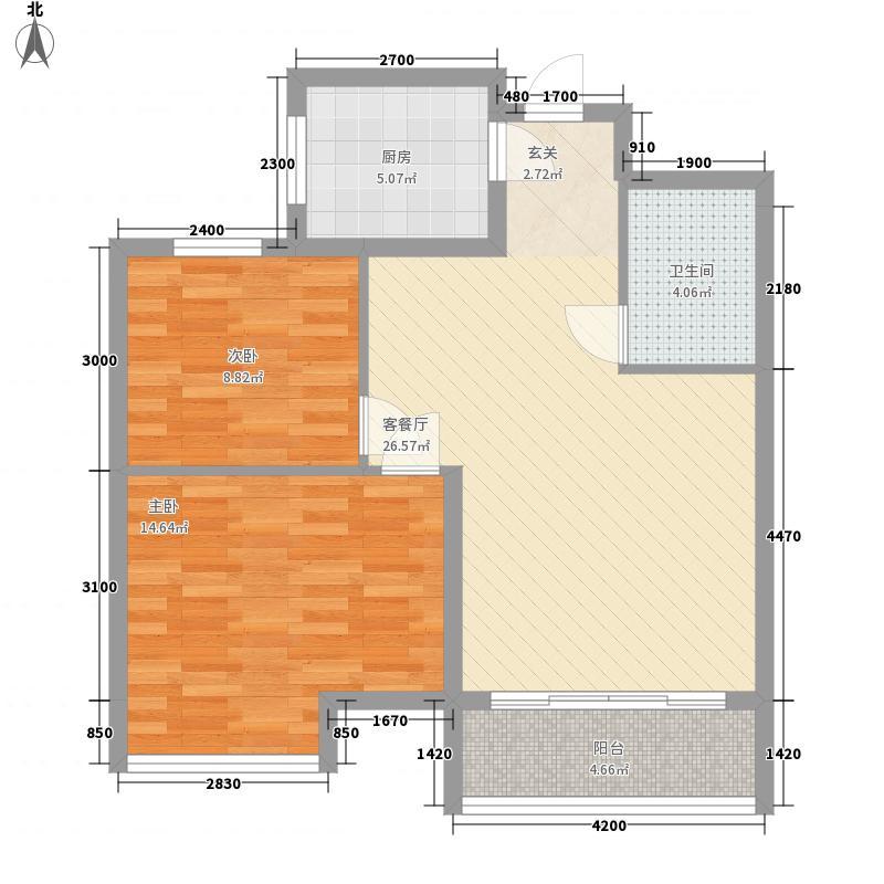 沿海赛洛城二期101.00㎡沿海赛洛城二期2室户型2室