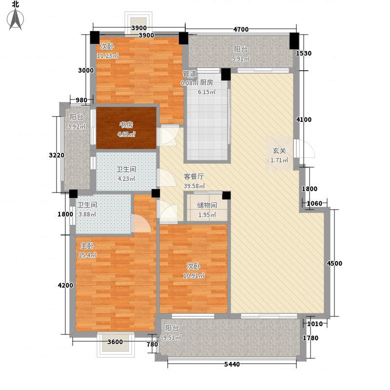 江南水都美域江南水都美域户型图B3d户型28#31#4室2厅2卫1厨户型4室2厅2卫1厨