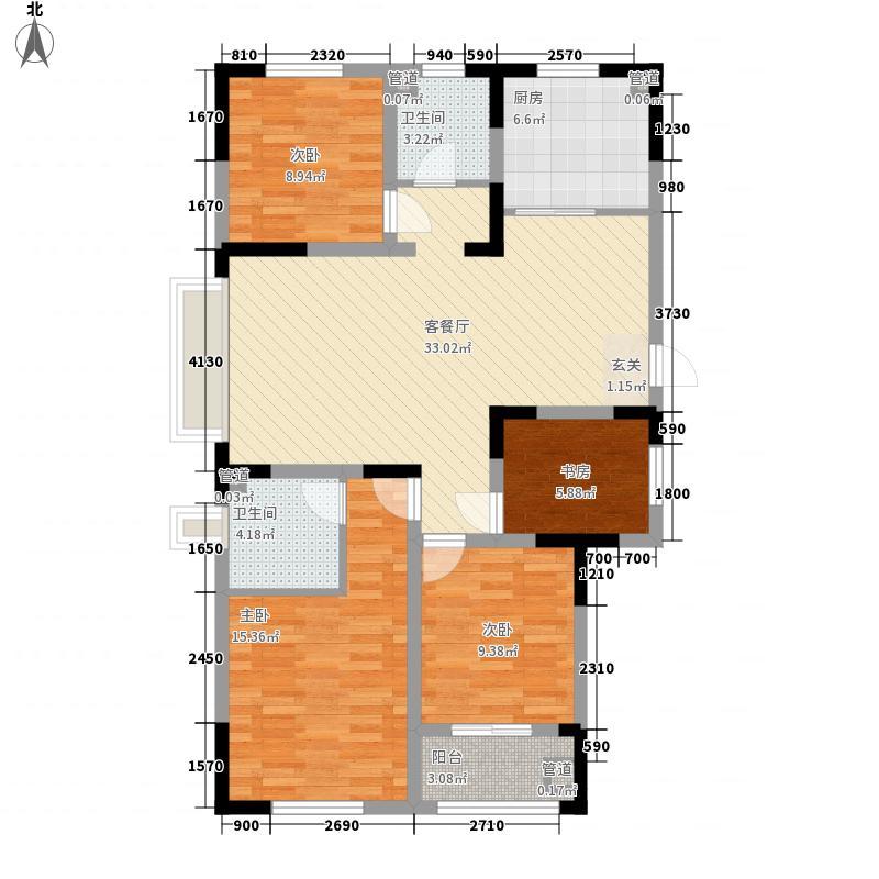 欧洲小镇三期多层电梯洋房70#楼E户型