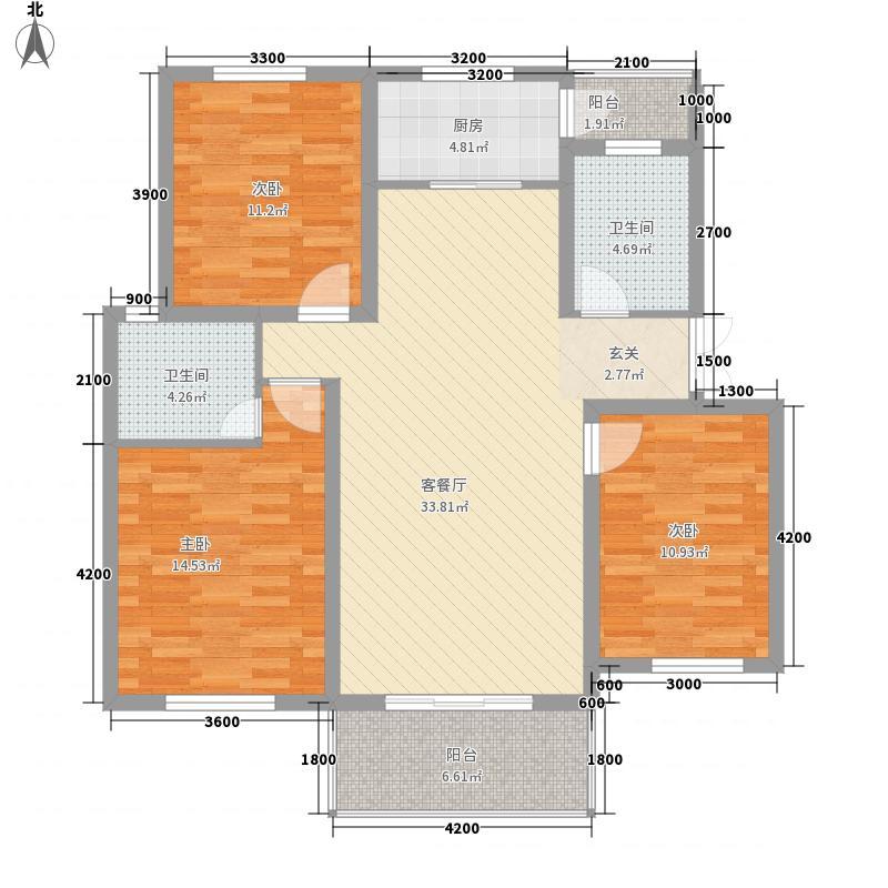 香格里拉花园111.20㎡3室2厅2卫