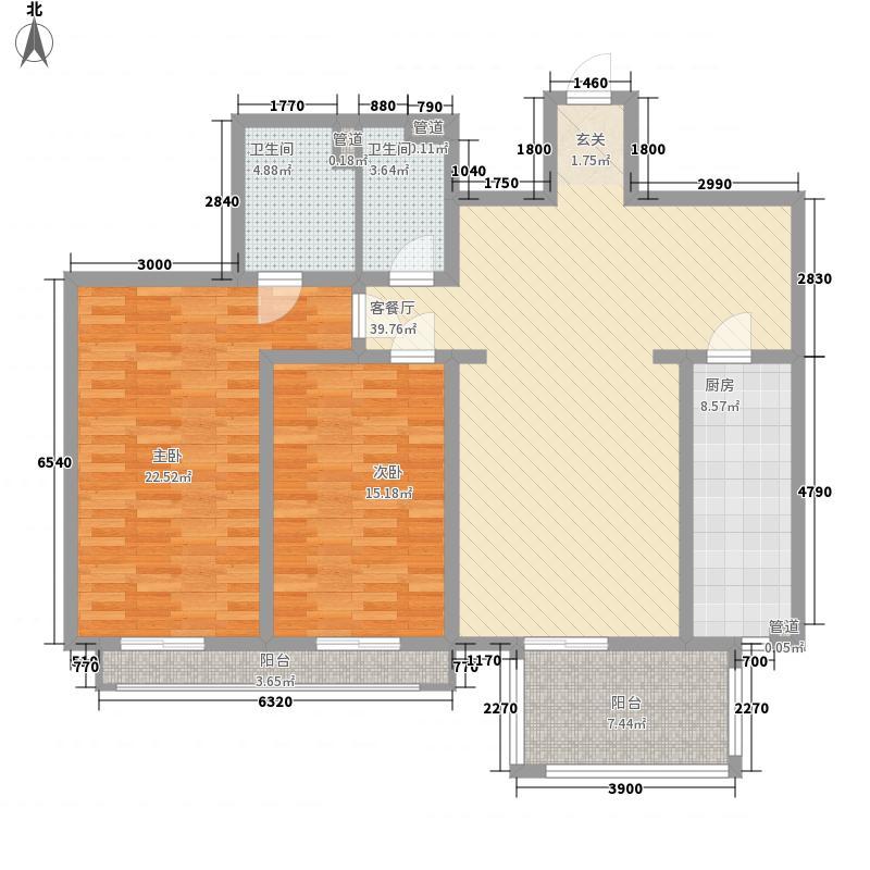 东泰花园景华苑230.00㎡东泰花园景华苑3室户型3室