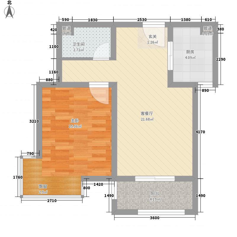 卓达香水海二期苏格兰城电梯洋房H1S8W1J6K4P6户型