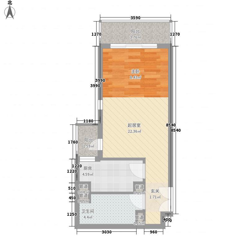 天环苑55.00㎡1室
