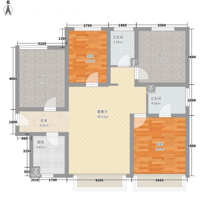 怡园新村户型图33 3室1厅1卫1厨
