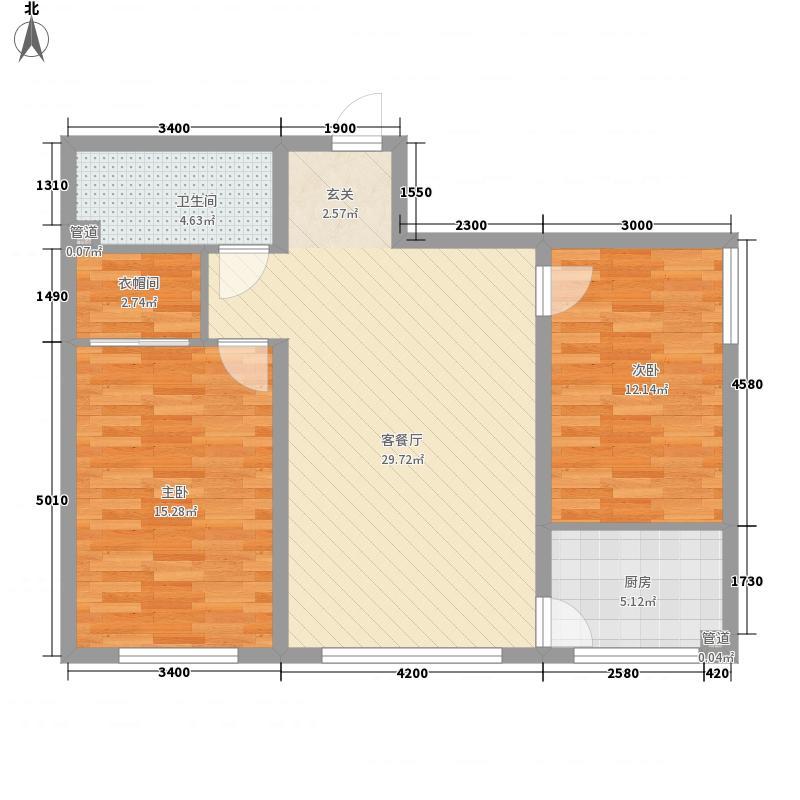 四环花园四环花园户型图2室2厅12室2厅1卫1厨户型2室2厅1卫1厨