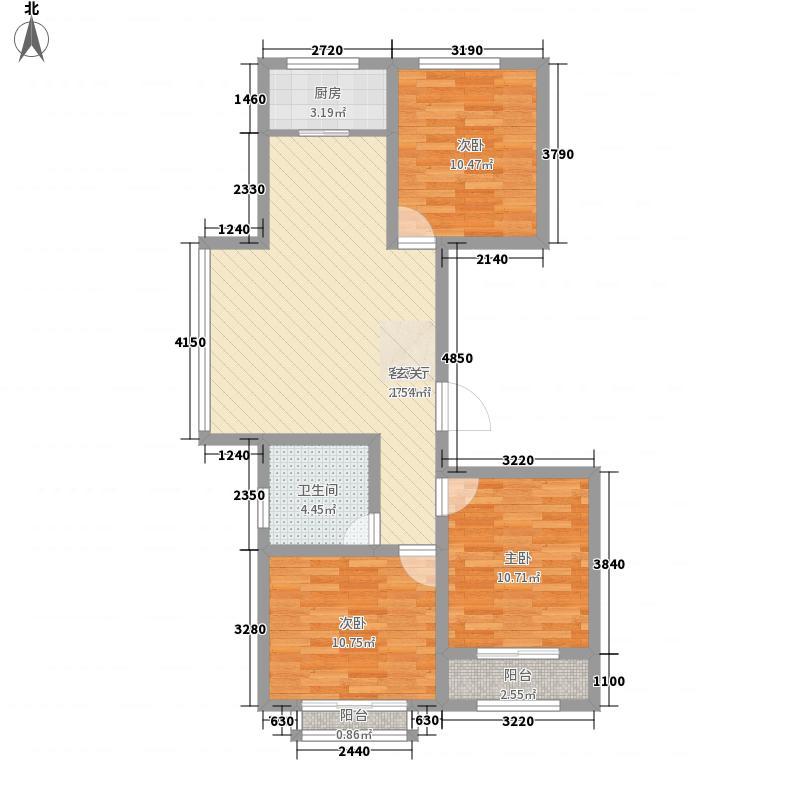 常香园104.46㎡常香园户型图D户型3室2厅1卫1厨户型3室2厅1卫1厨