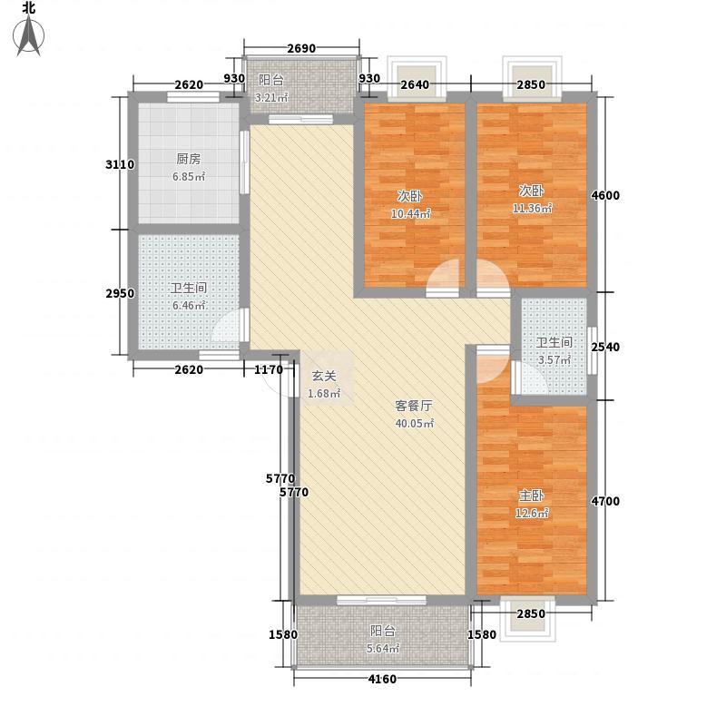 凌峰书香名邸143.91㎡凌峰书香名邸户型图户型33室2厅2卫户型3室2厅2卫