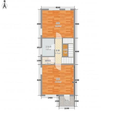 水郡花洲2室0厅1卫0厨130.00㎡户型图